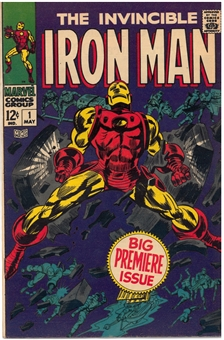 Iron Man #1 VF-