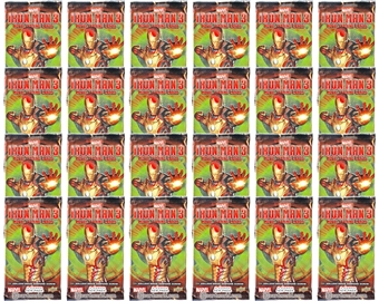 Marvel Iron Man 3 Trading Cards Retail Pack (Upper Deck 2013) (Lot of 24)