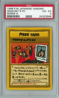 Pokemon Japanese Vending III Promo Imakuni's PC PSA 4
