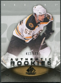 2010/11 Upper Deck SP Game Used #185 Zach Hamill /699
