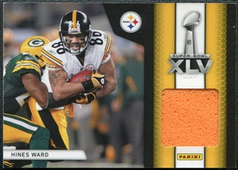 2011 Panini Black Friday Super Bowl Materials Pylons #SB7 Hines Ward /19