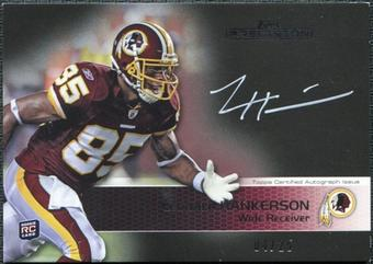 2011 Topps Precision Rookie Autographs White Ink #114 Leonard Hankerson /25