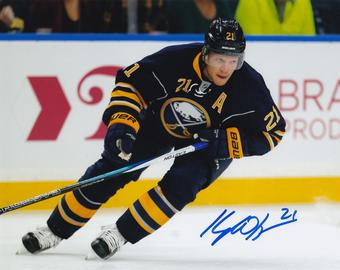 Kyle Okposo Autographed Buffalo Sabres 8x10 Photo