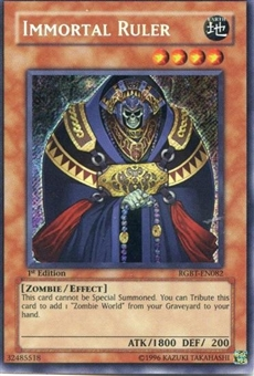 Yu-Gi-Oh Raging Battle Single Immortal Ruler Secret Rare