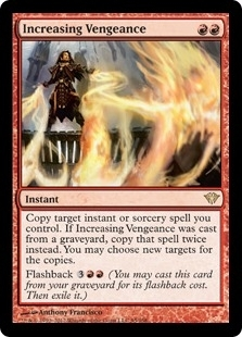 Magic the Gathering Dark Ascension Single Increasing Vengeance - NEAR MINT (NM)