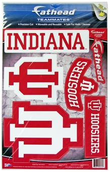 Fathead Indiana Hoosiers Team Logo Set Wall Graphic