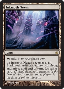 Magic the Gathering Mirrodin Besieged Single Inkmoth Nexus Foil - SLIGHT PLAY (SP)