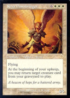 Magic the Gathering Invasion Single Reya Dawnbringer UNPLAYED (NM/MT)