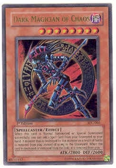Yu-Gi-Oh Invasion of Chaos Single Dark Magician Of Chaos Ultra Rare (IOC-065)