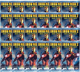 Marvel Iron Man 2 Trading Cards (Lot of 24 Packs) (2010 Upper Deck)
