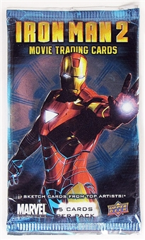 Marvel Iron Man 2 Trading Cards Pack (2010 Upper Deck)