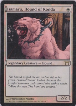 Magic the Gathering Champs of Kamigawa Single Isamaru, Hound of Konda Foil