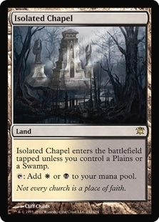 Magic the Gathering Innistrad Single Isolated Chapel - NEAR MINT (NM)
