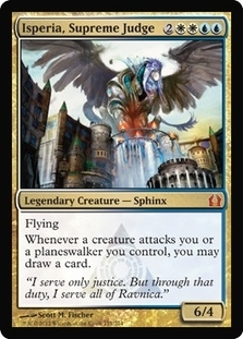 Magic the Gathering Return to Ravnica Single Isperia, Supreme Judge - NEAR MINT (NM)