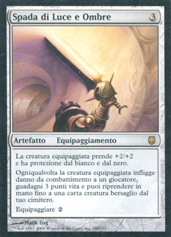 Magic the Gathering Darksteel Single Sword of Light and Shadow ITALIAN - SLIGHT PLAY(SP)