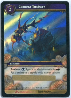 World of Warcraft Scourgewar Tuskarr Kite ITALIAN LOOT CARD - UNSCRATCHED