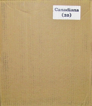 2011 In The Game Canadiana Hobby 20-Box Case