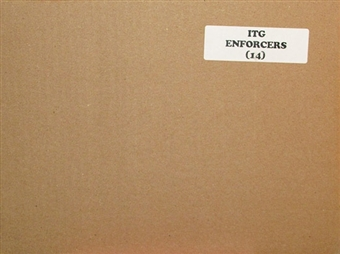 2011/12 In The Game Enforcers Hockey Hobby 14-Box Case