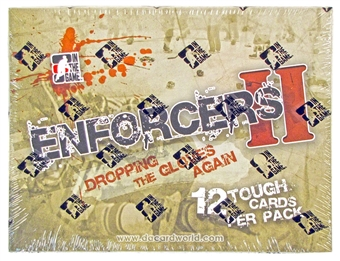 2013/14 In The Game Enforcers II Hockey Hobby Box
