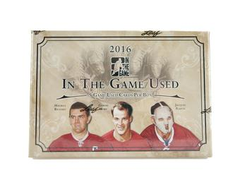 2016/17 Leaf In the Game Used Hockey Hobby Box