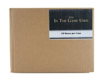 2016/17 Leaf In the Game Used Hockey Hobby 10-Box Case