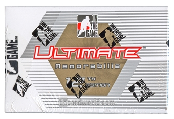 2012/13 ITG Ultimate Memorabilia 12th Edition Hockey Hobby Pack