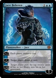 Magic the Gathering Duel Deck Single Jace Beleren Foil