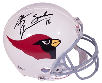 Jake Plummer Autographed Arizona Cardinals Authentic Proline Helmet (Mounted Memories)