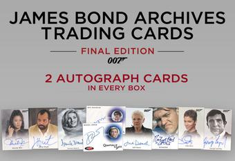 James Bond Archives The Final Edition Trading Cards Box (Rittenhouse 2017) (Presell)