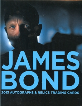 2013 James Bond Autographs & Relics Trading Cards Album/Binder
