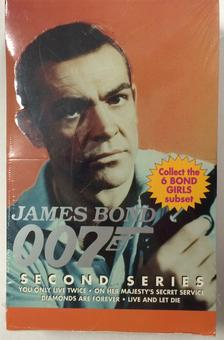 James Bond 007 Trading Card Box Series 2 (Eclipse 1993)