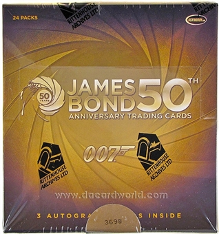 James Bond 50th Anniversary Series 1 Trading Cards Box (Rittenhouse 2012)