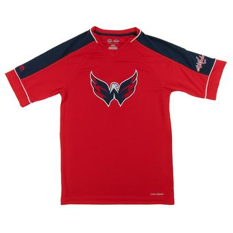 Washington Capitals Majestic Red Expansion Draft Performance Tee Shirt (Adult S)