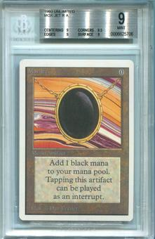 Magic the Gathering Unlimited Single Mox Jet BGS 9.0 - (9,9.5,9,9) QUADS PLUS!