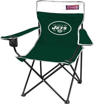 New York Jets Coleman Team Logo Oversize Quad Chair