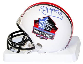 Jim Kelly Autographed Buffalo Bills Hall of Fame Mini Football Helmet