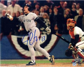 Jim Leyritz New York Yankees Autographed 8x10 Baseball Photo (Steiner)