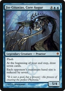 Magic the Gathering New Phyrexia Single Jin-Gitaxias, Core Augur Foil