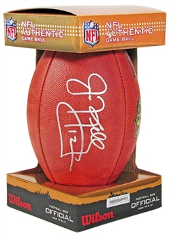 Jim Kelly Autographed Buffalo Bills Wilson Official NFL Football DACW COA