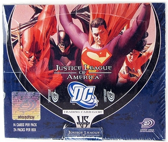 Vs System DC (JLA) Justice League of America Booster Box