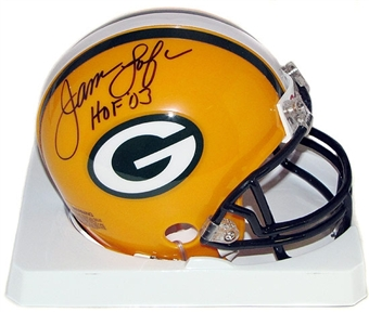 James Lofton Autographed Green Bay Packers Mini Helmet