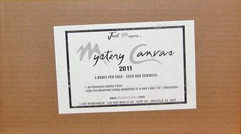 2011 Just Minors Mystery Canvas Baseball Hobby 8-Box Case