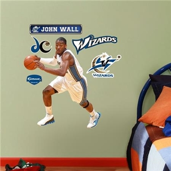 "Fathead John Wall Washington Wizards Junior Wall Graphic 27"" x 32"""
