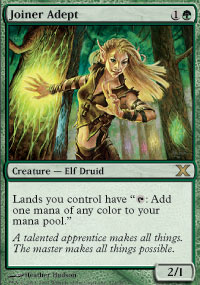 Magic the Gathering 10th Edition Single Joiner Adept Foil