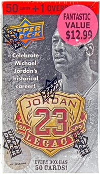 2009/10 Upper Deck Basketball Jordan Legacy Factory Set (Box) (Lot of 3)