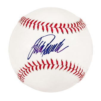 Jorge Posada Autographed New York Yankees Offical Major League Baseball (JSA)