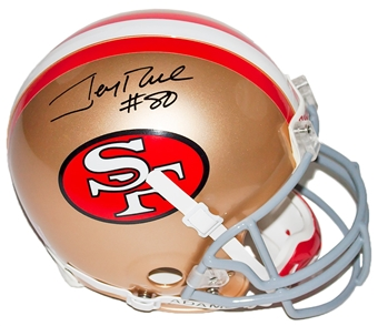 Jerry Rice Autographed San Francisco 49ers Proline Riddell Full Size Helmet (PSA)