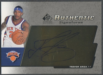2004/05 SP Signatures #TR Trevor Ariza Authentic Signatures Rookie Auto