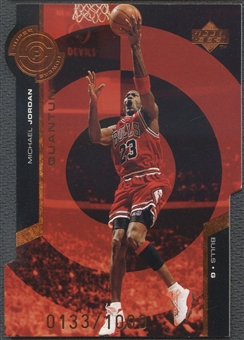 1998/99 Upper Deck #PS30 Michael Jordan Quantum Super Powers Bronze #0133/1000