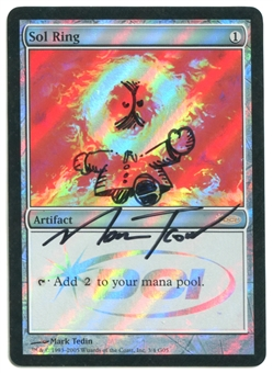 Magic the Gathering Judge Foil Single Sol Ring Mark Tedin Altered into Kenny McCormick